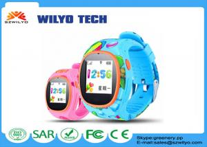 China Blue Cell Phone Wrist Watch Multicolor AGPS mobile android watch S866w supplier