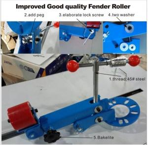 China Fender Rolling Tool wheel arch rolling tool roller rubber fender on sale