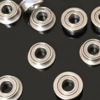 China MF105ZZ Helicopter Miniature Flange Ball Bearing 5*10*4mm on sale