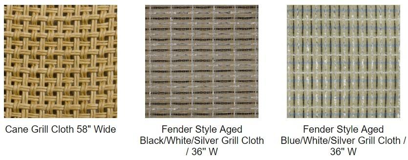 Vox Speaker Cabinet Brown Diamond Grill Cloth DIY guitar