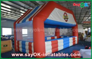 China Custom Shaped Portable Advertising Inflatable Cube Tent with Print UL Certificate on sale