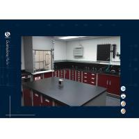 All Steel Material Laboratory Island Bench Dental Lab Furnitue