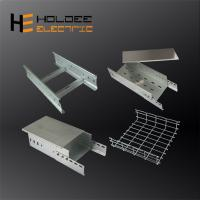 China Hot Dip Galvanized Steel Electrical Perforated?Cable?Tray?With CE CCC on sale