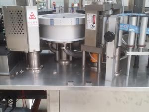 China Hot melt glue labeling machine with speed 12,000~24,000bph on sale