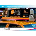 China High Density P5 Taxi Led Display 1R1G1B , Taxi Roof Advertising Signs wholesale