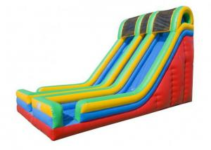 China 0.55mm PVC  Entertainment Large Inflatable Slide For Children OEM on sale