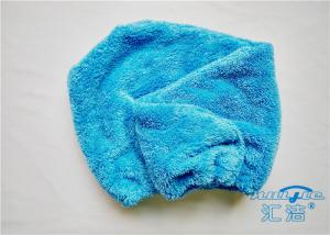 China Beautiful Woman Microfiber Hair Turban Ultra Soft Plush Fleece Hair Wrap Towel on sale