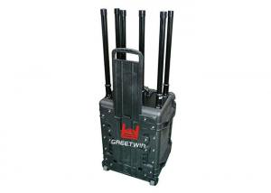 China 2.4GHz & 5Ghz Wireless networks Jammer , Drone Jamming Device 360 Degrees 330w Up To 1000m on sale