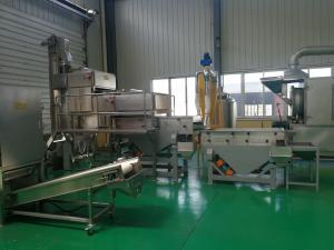 China Peanut Crushing And Grading Machine Stainless Steel Material Advanced Technology on sale