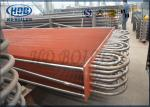 Stainless Steel Resistance Corrosion Heat Exchanger ASME For CFB Boiler