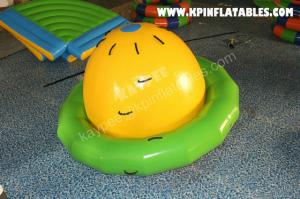 China Inflatable Water Spinner,inflatable Saturn game for Aqua Park on sale
