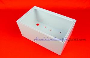 China Small Powder Coated Stamping Electrical Control Case & Box % Cabinet on sale