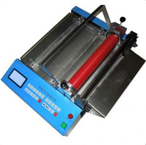 China Microcomputer automatic webbing Cutting Machine LM-300s(cold Cutter)  Application:  cotton belt on sale