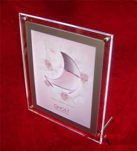 China acrylic vase with photo frame on sale