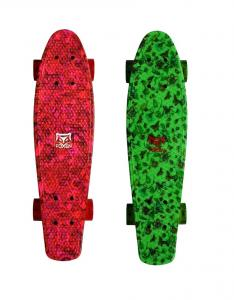 China Red Plastic Penny Skateboard  , Penny Board Or Skateboard 22X 6 Inches on sale