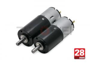 China 28mm 24v dc gear motor , Planetary Reduction Geared Motor With Gear Ratio 864 / 1 on sale