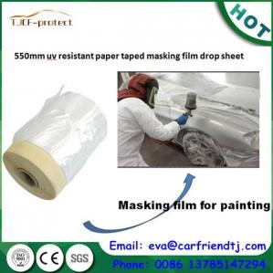 China pre-taped masking film on sale