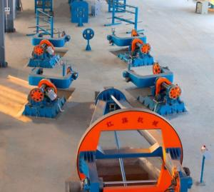 China Drum Type Cable Wire Twisting Machine PN1600 Traversing Motors on sale