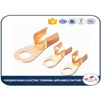 Tin Plated Copper Cable Lugs OT Series / Electrical Terminal Lugs