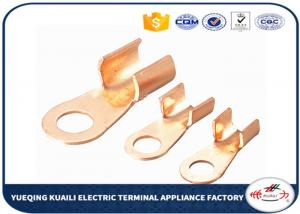 China Tin Plated Copper Cable Lugs OT Series / Electrical Terminal Lugs on sale