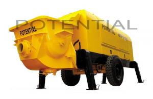China HBT80.13.130RS Truck Mounted Concrete Pump , Diesel Concrete Pump 13/8 Pumping Pressure on sale