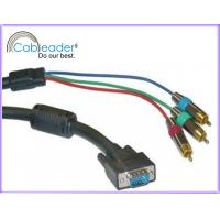 Cableader HD15 to 3 RCA TV / HDTV Component Video VGA Monitor cables