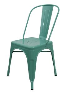 China Vintage Tolix Modern Plastic Chairs With Electro Plated , Antique Stackable on sale