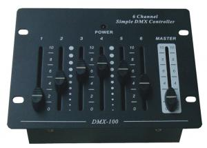 China 6 Ch Programmable DMX LED Controller For Stage Light PP39V Battery High Power on sale