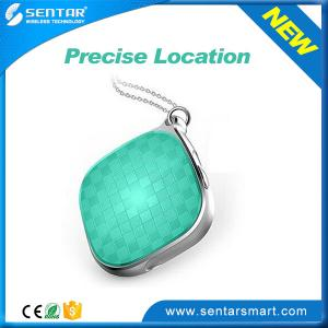 China Delicate appearance pendant Green GPS + WIFI + LBS location mini tracker supplier