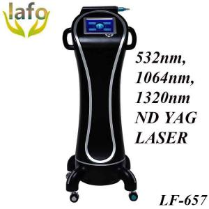 China 1064nm and 532 nm Q-switched ND YAG laser machine/ new laser for tattoo removal machine on sale