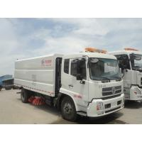 HOT SALE! dongfeng brand 4*2 LHD big road sweeping vehicle for sale, factory sale best price dongfeng street sweeper
