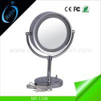 China LED modern standing mirror, wedding table decoration mirror with lights on sale