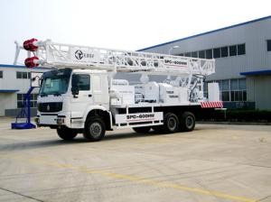 China SPC600 Truck Mounted Water Well Drilling Rig on sale