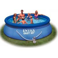 Outdoor Round Inflatable Swimming Pools with filter for home backyard water games