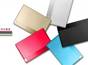 China portable Credit Card Power Bank aluminum Wallet mobile charger for samsung galaxy note on sale