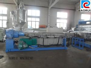 China Double Screw Plastic Sheet Extrusion Line ,  PVC Plastic  Sheet Machine on sale