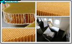 Commercial Nomex Honeycomb Fiberglass Sheets Twill Weave Pattern Damage Resistance