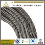 Cuerda de alambre de acero antifatiga 8*19W, porque elevadores y elevaciones, cuerda de la seguridad
