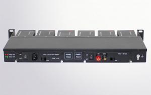 Quality шкаф шасси конвертера средств волокна шлицев 1U 12 миниый с двойным электропитан for sale