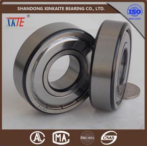 China Le fer de marque de XKTE scelle le roulement à rouleaux de soutien de convoyeur 6204ZZ C3/C4 avec le coin noir pour l'équipement minier de la porcelaine on sale