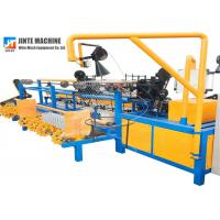 China CE Diamond Fully Automatic Chain Link Fence Machine on sale