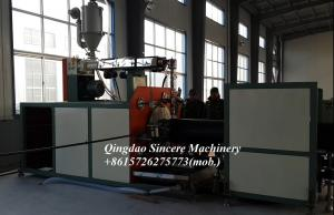 Quality Double-wall plastic manhole winding pipe extrusion machinery with hollow wall for sale