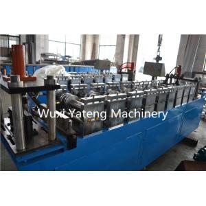 China Chain Drive Galvanized Coils Stud And Track Roll Forming Machine For PLC System Line on sale