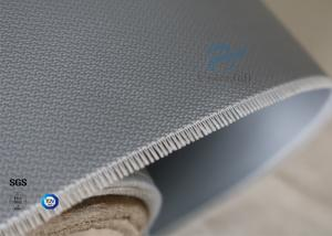 China Alkali Free 590g Satin Weave Waterproof Silicone Coated Fiberglass Fabric 0.5mm on sale