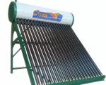 Manufacture of non-pressurized vacuum tube solar water heating