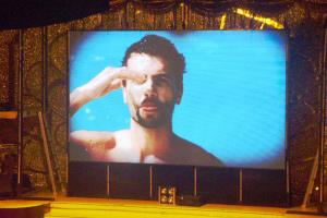 China P10 Full Color10000 Pixel Density Vivid Pictures Airport Outdoor LED Display on sale