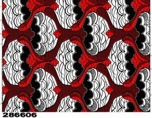 China real wax printed cotton african fabric  on sale