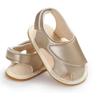 China New designed infant Baby Sandals Rubber sole airship Hero Toddler baby shoes on sale
