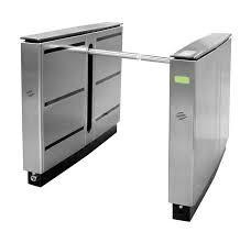 China CE Approved Train Station Drop Arm Turnstile With Fast Speed  Entry Systems on sale