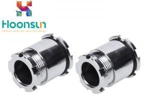 China JIS Thread Chrome Plated Brass Cable Gland High Hardness Marine Cable Connectors on sale